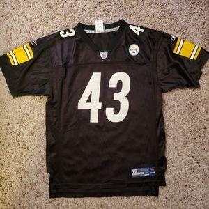 Reebok Troy Polamalu Pittsburgh Steelers Jersey